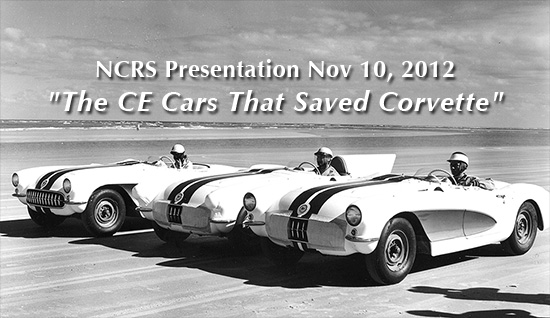 CE Cars That Saved The Corvette